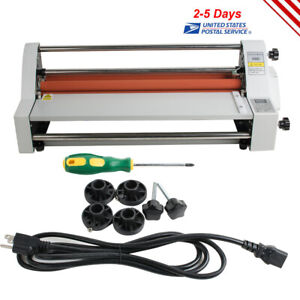 Safety 110v 450mm Digital Four Rollers Hot cold Roll Laminating Machine