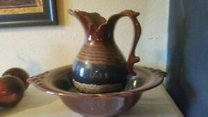 Vintage Pitcher And Bowl Royal Haeger 4060 Usa Beautiful Was 140 Now 99