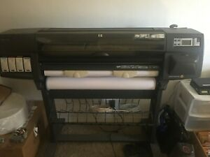 Hp Designjet 1050c Plus Inkjet Printer plotter Used Local Pickup Only