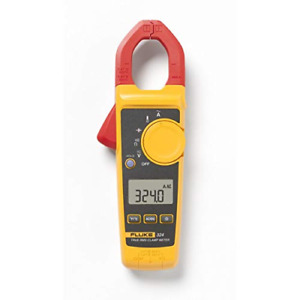 Fluke 324 40 400a Ac 600v Ac dc True rms Clamp Meter With Temperature Capacita