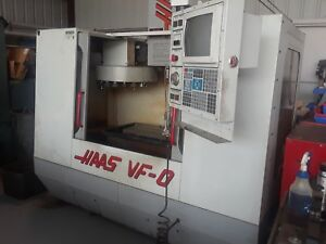 Used Haas Vf 0 Cnc With Gibbscam And A Lot Of Tooling