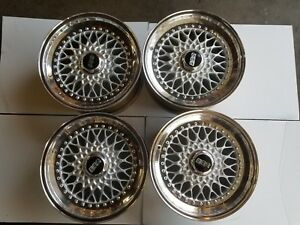 Bmw Bbs Rs Staggered 16x7 16x8 Completely Refinished E24 E28 3 0csl 3 0csi M5 M6