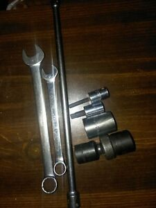 Snap on Matco Impact Sockets And Wrenches Mac Sockets And Extension