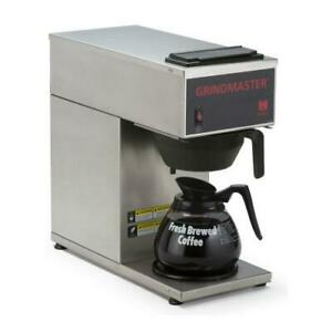 Grindmaster Cpo 1p 15a Pourover Coffee Brewer W 1 Bottom Warmer