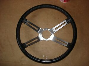 1970 1971 1972 Oldsmobile 442 4 Spoke Black Steering Wheel W30 W31 Cutlass Sx