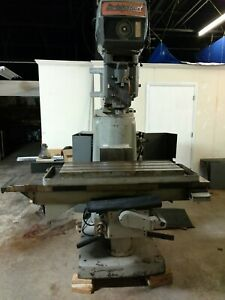 Bridgeport Vertical Milling Machine 4 Hp Series Ii 2 Nc Conversion