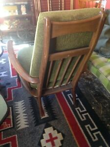Vintage Mid Century Chair Palm Springs California Danish Modern