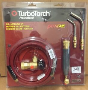 Turbotorch X 4b Torch Kit Swirl For B Tank Air Acetylene 0386 0336