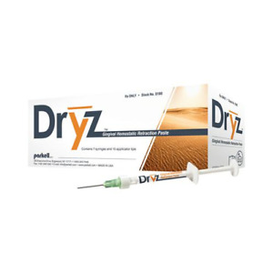 Parkell S182 Dryz Gingival Hemostatic Dental Retraction Paste Value Kit 25 pk