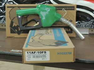 Opw 11af 10fs Farm Nozzle With Hook Green Leaded