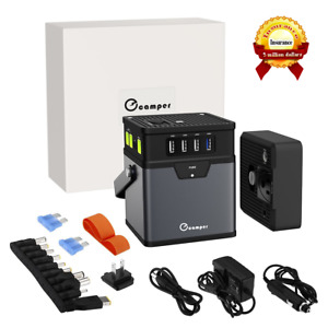 185wh 50000mah Portable Generator Power Source Energy Storage Battery Ac Outlet