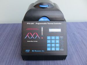Mj Research Ptc 100 Programmable Thermal Controller Cycler 96 Well Hot Bonnet