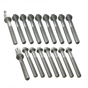 For 96 09 Chevy Pontiac Saturn Buick Oldsmobile 3 1 3 4 3 5l Cylinder Head Bolts