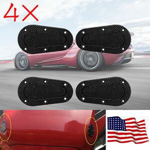 4 Racing Hood Pin Plus Flush Mount Quick Latches Lock Clip Bumper Key Without