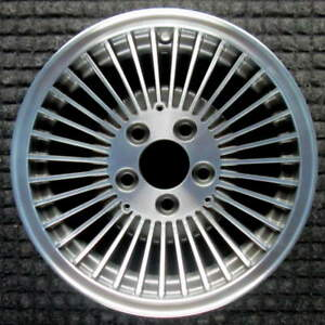 Ford Crown Victoria Machined W Charcoal Pockets 15 Inch Oem Wheel 1980 1991 E