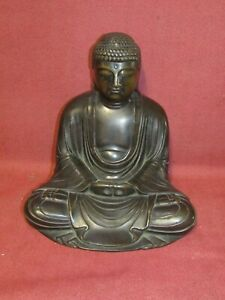 Fine Antique Japanese Bronze Buddha Sculpture