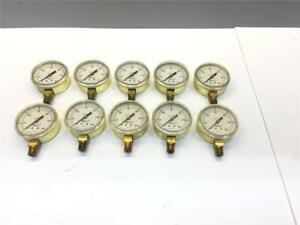 25pc Ncg 0 300 Welding Oxy Acetylene National Cylinder Gas Psi Gauge 100105 18