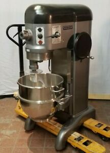 Hobart H600t 60 Qt Mixer Timer 3 Phase 208v New Stainless Bowl New Hook