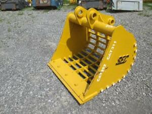 45 Sec Excavator Skeleton Ditching Bucket New Cat 311 312 313 314 E110b E120b