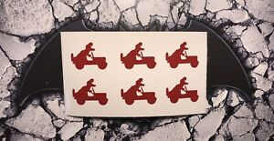 Willys Jeep T Rex Dinosaur Driving Jeep Decal