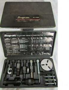 Snap On Act1300a Air Conditioner Clutch Hub Puller Installer Kit