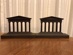 Greek Temple Bookends Cast Iron By Bradley And Hubbard