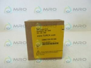 Turck Connector pdp d9s Connector Factory Sealed