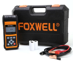 Foxwell Bt780 Battery Load Tester Charging System Analyzer With Stop Start Agm
