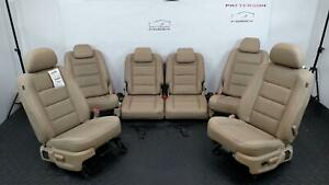 2008 Ford Taurus X Front Rear Bucket Seats Leather