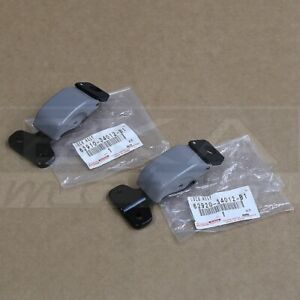 Oem Quarter Glass Latch Driver Passenger Side Lh Rh Rear Gray Pair For Tundra