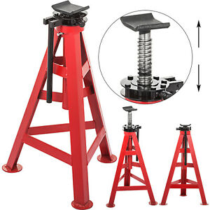 High Jack Stand 10t Heavy Duty 11 8 300mm Large Capacity Truck Lift Hydraulic