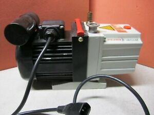 Pfeiffer Duo 2 5 Single Stage Vacuum Pump Pk D41 062c