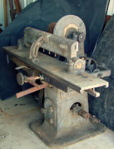 Antique Fay Egan Planer Jointer Knife Grinder 1886 Woodworking Machine