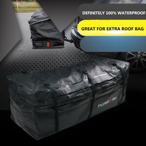 Expendable Cargo Carrier Bag Proof Car Hitch Mount Luggage Roof Top Rack