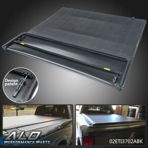 Soft Four Fold Tonneau Cover For 09 18 Dodge Ram 1500 2500 3500 5 7ft Truck Bed