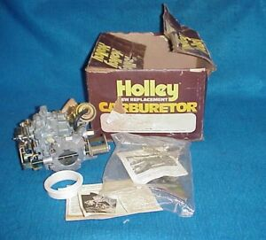 New Holley R 9807 Ford Mercury Carb Carburetor 250 Granada 78 79 80 81 82