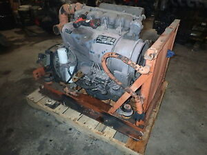 Deutz F4l914 Diesel Engine Runs Mint Video F4l912 913 Vermeer Pump