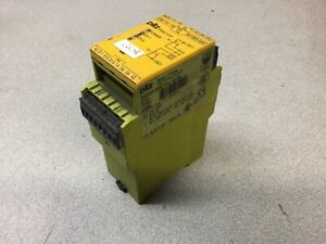 Pilz P2hz X1p 24vdc 3n o 1n c 2so Safety Relay
