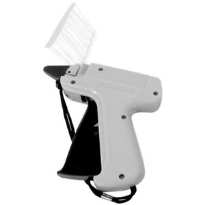 Evelots Tag Attaching Tagging Gun With 1000 Standard Attachment Fastener Barbs