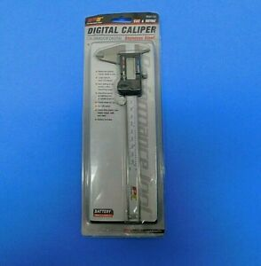 Performance Tool Digital Caliper Stainless Steel W80152 Open Box