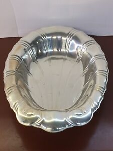 Rogers Bros Neptune 9312 Silver Plated 12 X8 5 X1 75 Scallopped Serving Platter