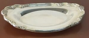 Vintage Silver Plated Silverplated 9 5 X6 Wilcox Ashley Serving Platter Tcc