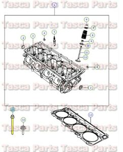 New Mopar Oem Engine Valve Cover M12x1 50x135 00 Bolt 2006 Magnum Grand Cherokee
