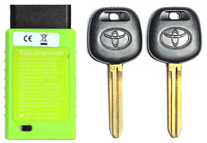 2pcs Toy44g Toyota 2010 2014 G Chip Transponder Key With Programmer Usa Seller