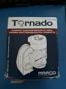 Super Loud Marco Tornado Compact Air Horn For All 12v Vehicles Motorcycles Car