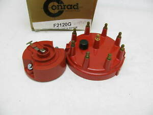 Distributor Cap And Rotor Kit Premium F2120g For 1984 1989 Ford F 150 Bronco