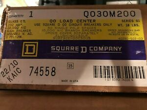 New Qo 200 Amp 30 Space Indoor Main Breaker Load Center Without Cover Q030m200