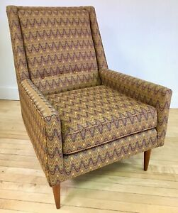 Vintage 1950s Newly Upholstered Chair Paul Mccobb Style Mid Century Modern Mcm