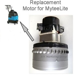 Carpet Cleaning 3 stage Peripheral Vacuum Motor For Mytee 8070