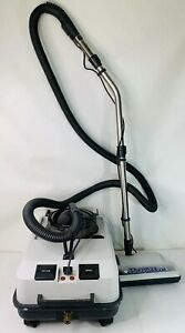 Thermax Af Gray Carpet Steam Cleaner Vaccum Wet Dry power Head tested Working